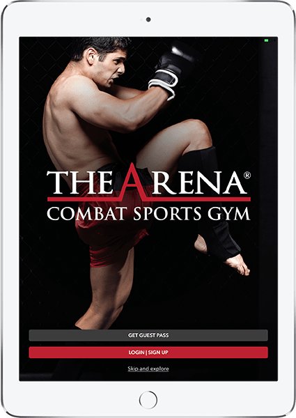 the arena mobile app