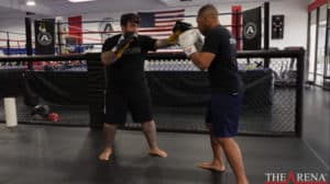 2 ways to change stances in boxing and kickboxing video