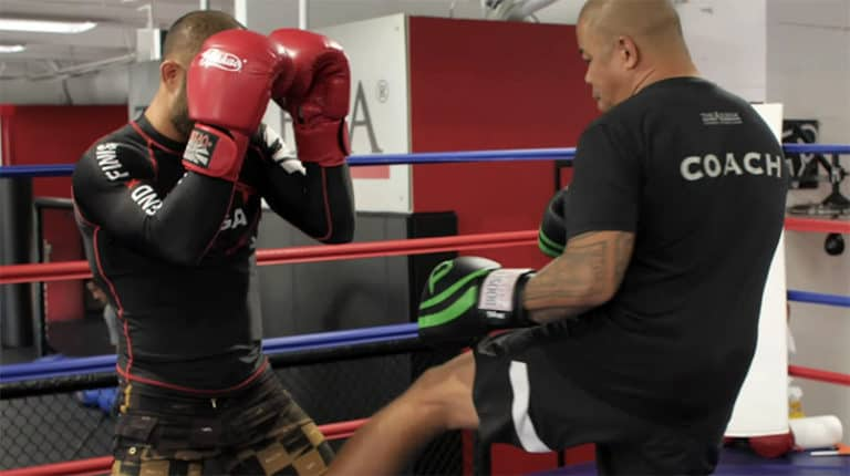 How to Use Inside Leg Kicks to Shift Your Stance