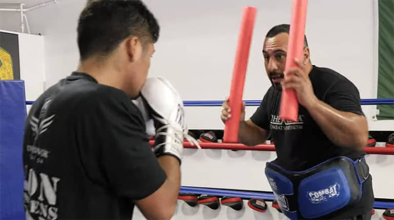 Resourceful Boxing Training Using Pool Noodles
