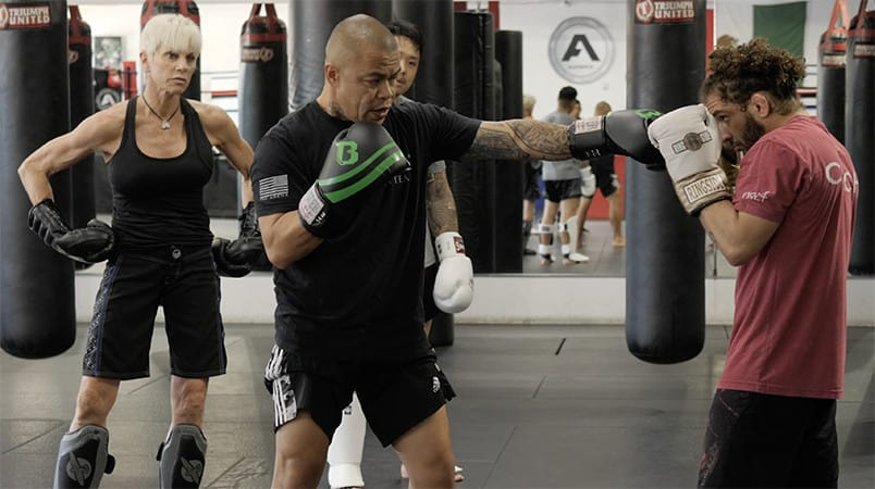 Coach Vince Teaches Solid Kickboxing Fundamentals
