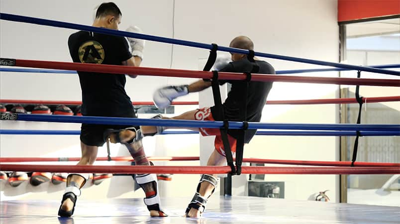 7 AM Muay Thai Sparring Session