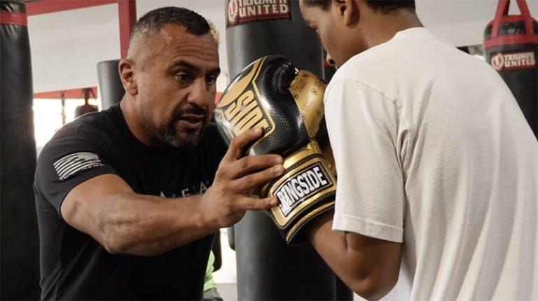 Boxing Coach Joe Vargas Breaking Down Some Fundamentals