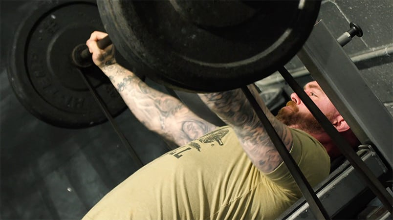 Conjugate Tactical Speed Bench Press Workout at The Arena